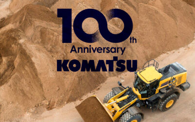 Komatsu cumple 100 años