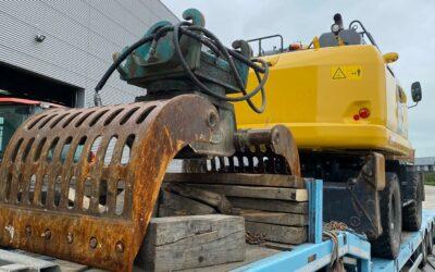Recepción excavadora PW180-10 de Komatsu